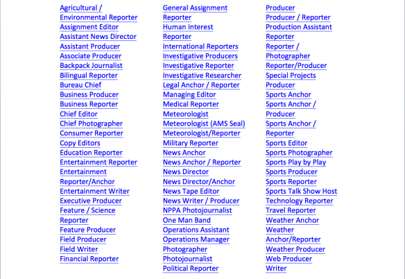 News Jobs